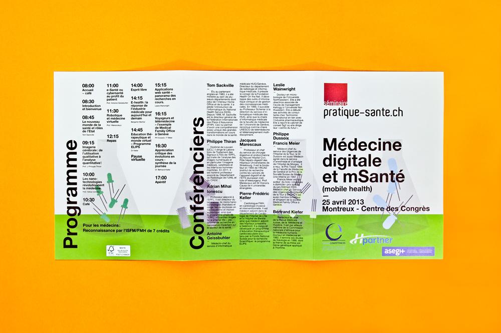 Flyer Médecine Digitale et mSanté