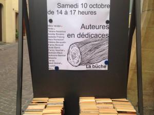 La Bûche Book Signing
